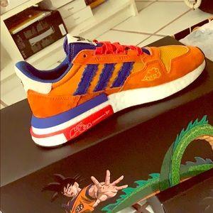 adidas Shoes   Adidas Zx 50 Dragon Ball Z Son Goku   Poshmark